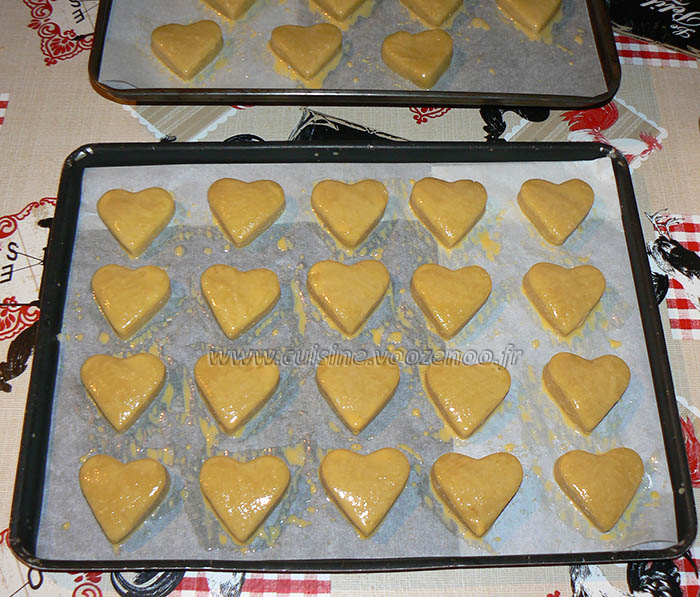 Coeurs d'amandes etape5