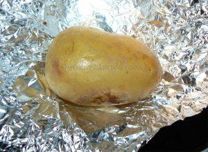Baked potatoes etape2
