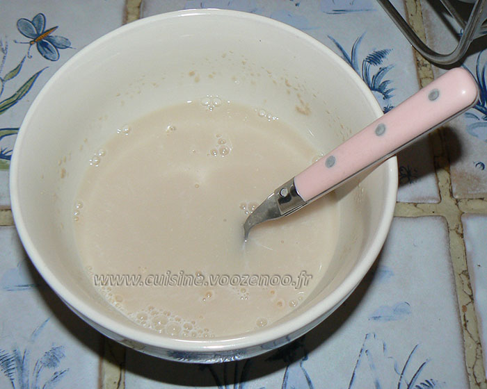Mini matloua, pain marocan  etape1