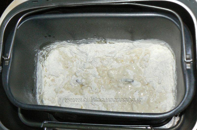 Mini matloua, pain marocan  etape2