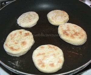 Mini matloua, pain marocan  fin
