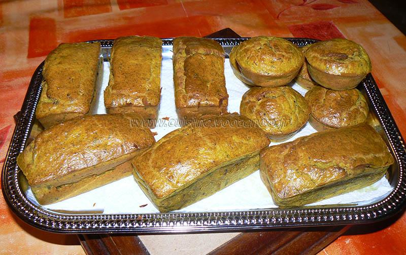 Mini cake au thon épicés fin
