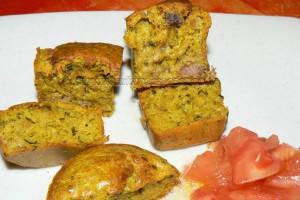 Mini cake au thon épicés