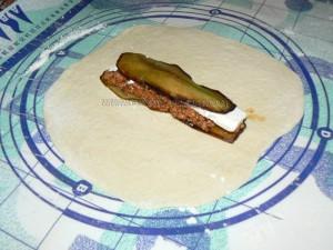 Pizza-chausson farcie à la moussaka revisitée etape6