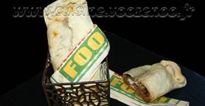 Pizza-chausson farcie à la moussaka revisitée