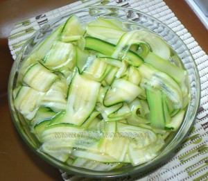 Tarte spirale aux courgettes et carottes etape2