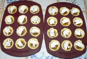 Mini tartelettes aux oignons confits et chèvre etape3