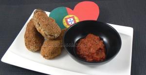 Croquettes de viande et bechamel à la portugaise slider