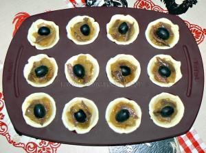 Mini pissaladiere et mini saladiere etape3
