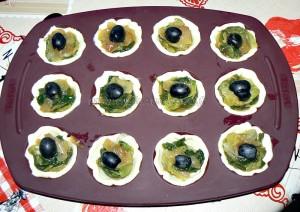 Mini pissaladiere et mini saladiere etape4