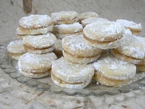 Vanilice - Biscuits Serbe au saindoux fin