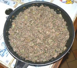 Poivrons farcis serbe, punjene paprike etape2