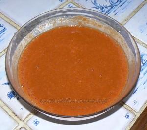 Sorbet à l'abricot etape2