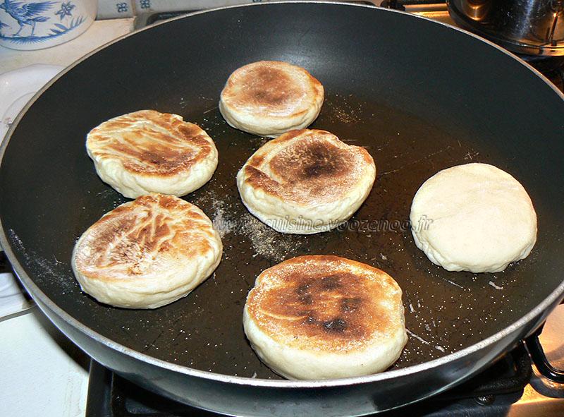Muffins anglais etape6