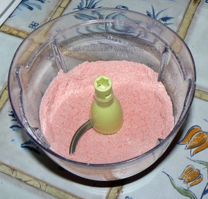 Amarettis roses etape1