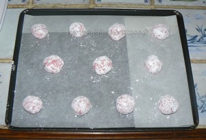 Amarettis roses etape4
