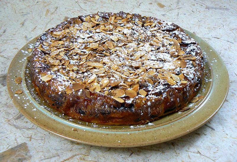 Gâteau invisible aux pommes et cacao fin2