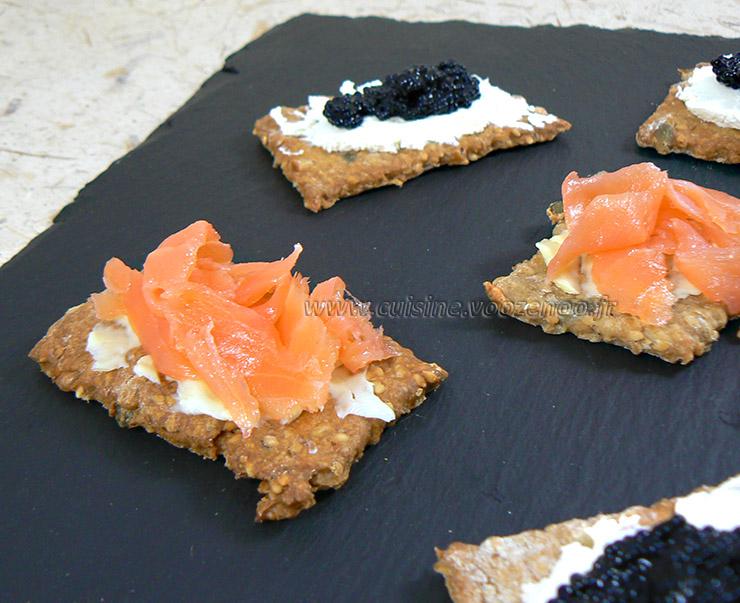 Knaekbrod, les crackers danois fin