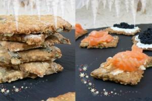 Knækbrød : Les crackers Danois