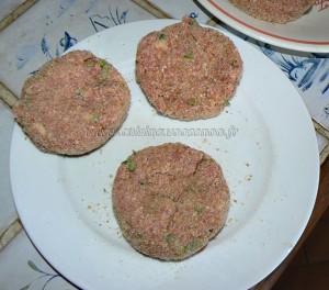 Polpettes à la mozzarella tomate et anchois etape4