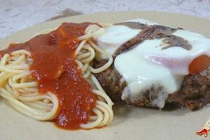 Polpettes à la mozarella, tomates et anchois