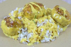 Boulettes de poulet, Sauce coco et citron vert