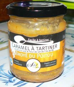 Gâteau de crêpes aux pommes, caramel beurre salé et meringue italienne etape