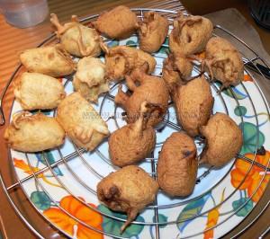 Beignets de banane caramelisées aux graines de sesame etape5