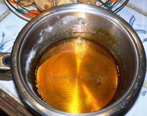 Beignets de banane caramelisées aux graines de sesame etape6