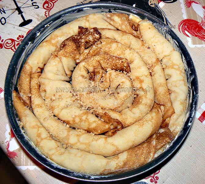 Grain de crêpes aux noix serbe etape6