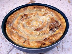 Grain de crêpes aux noix serbe fin