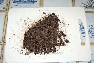 Cake choco-banane de Christophe Felder etape1