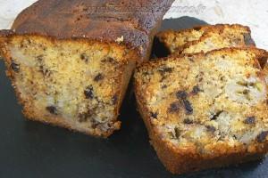 Cake Choco-banane de Christophe Felder