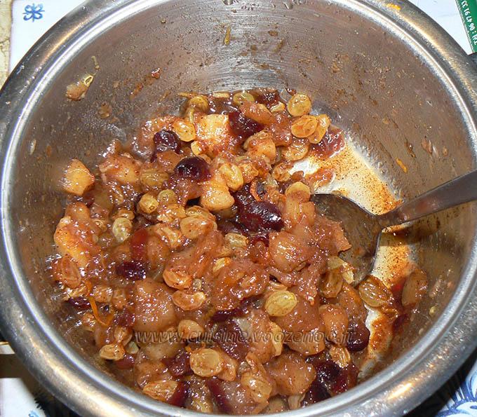 Mince pies, specialite anglaise aux fruits secs etape3