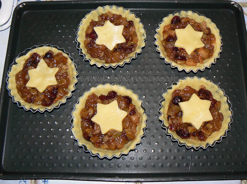 Mince pies, specialite anglaise aux fruits secs etape4