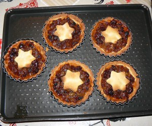 Mince pies, specialite anglaise aux fruits secs fin