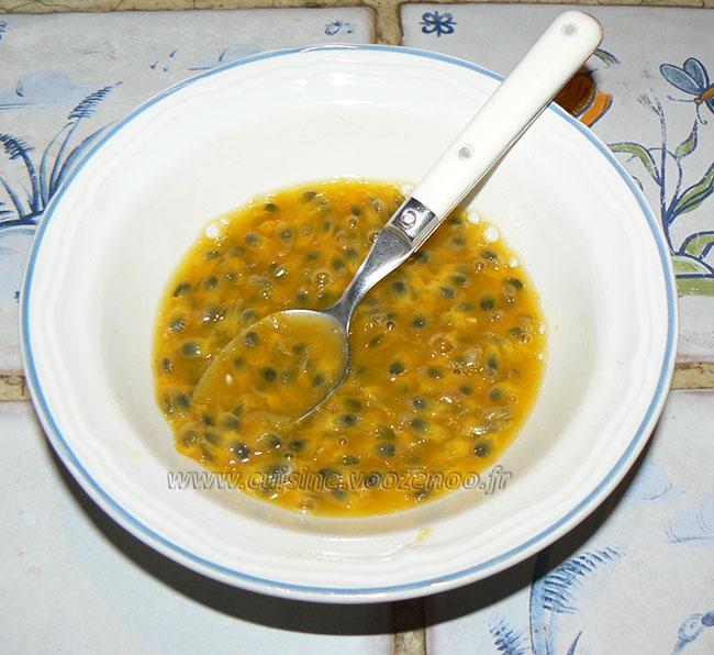 Tiramisu exotique à la mozzarella etape2