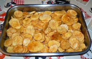 Dos de cabillaud sur pommes de terre épicées etape1