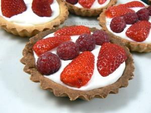 Tartelettes fraises - framboises gourmandes fin2
