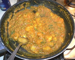 Tomates farcies à l'indienne vegetarienne etape3