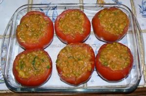 Tomates farcies à l'indienne vegetarienne etape4