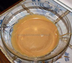 Cupcakes noix de pecan, topping creme de sirop d'erable etape1