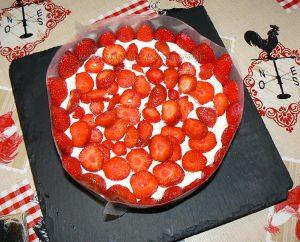 Tiramisu aux fraises etape12