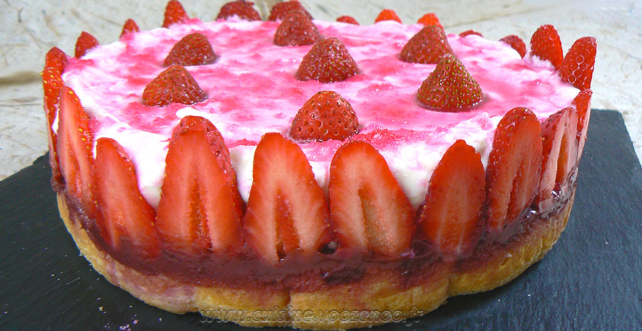Tiramisu aux fraises slider