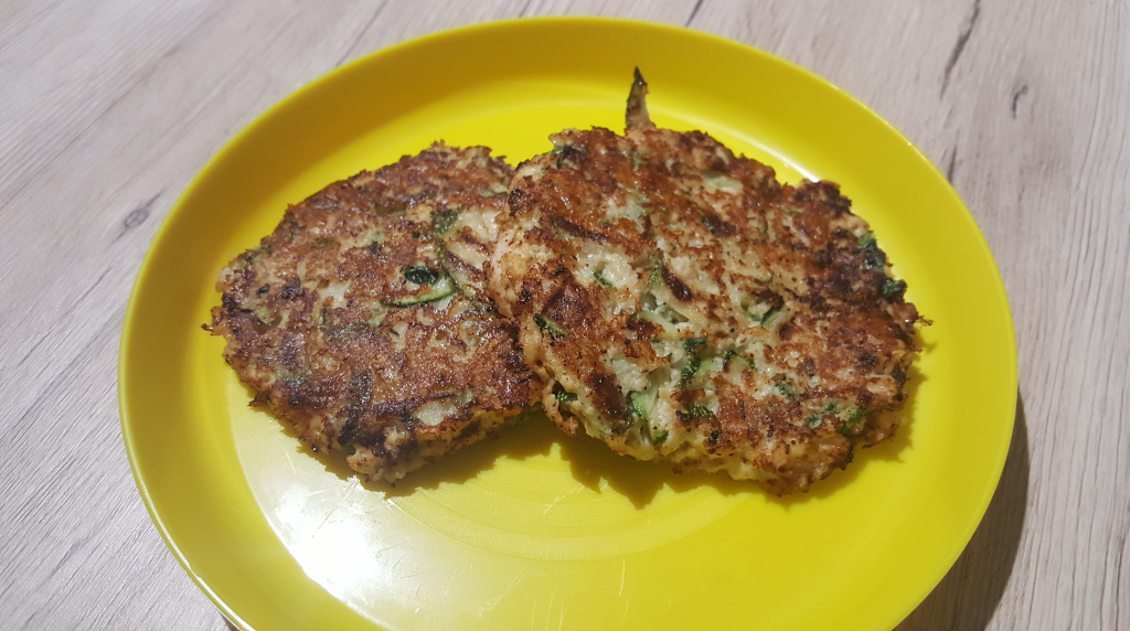 elodie – galette courgette poulet
