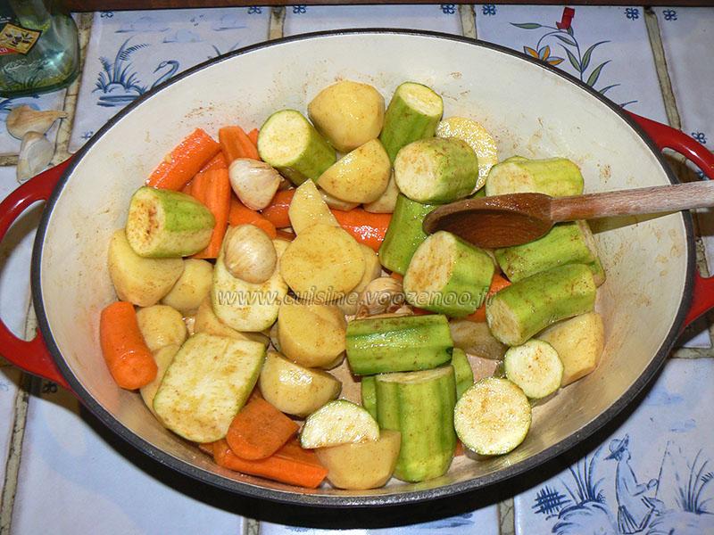 Poulet roti façon Jamie Oliver, saveurs orientales etape1