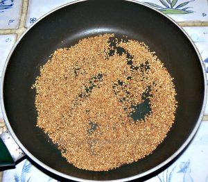 Cookies aux graines de sesame etape1