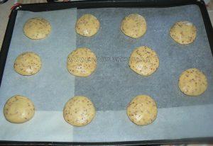 Cookies aux graines de sesame etape4