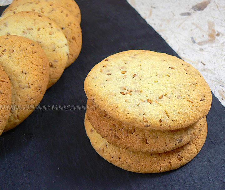Cookies aux graines de sesame fin2