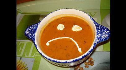 soupe grimace
